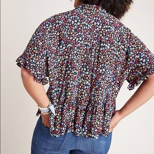 Anthropologie Tops - anthropologie maeve mallory blouse xs/s